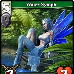 Water Nymph card