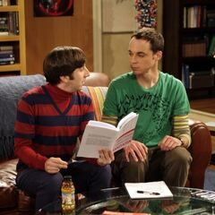 Sheldon learning Mandarin from Howard.