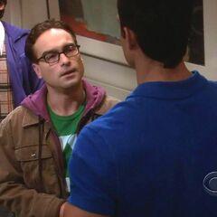 Leonard confronting Kurt.