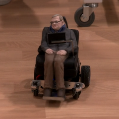 Toy Stephen Hawking.
