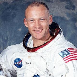Astronaut Buzz Aldrin NASA portrait.