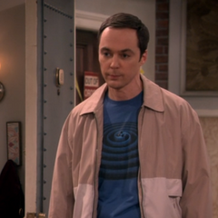 Sheldon apologizing to Amy.