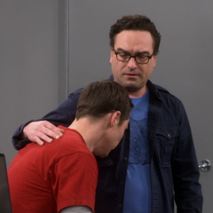 Sheldon finally gets his sleep.