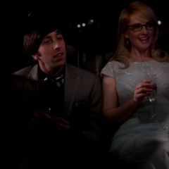 Howard and Bernadette going to their prom dance.