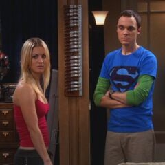 Penny vs. Sheldon.
