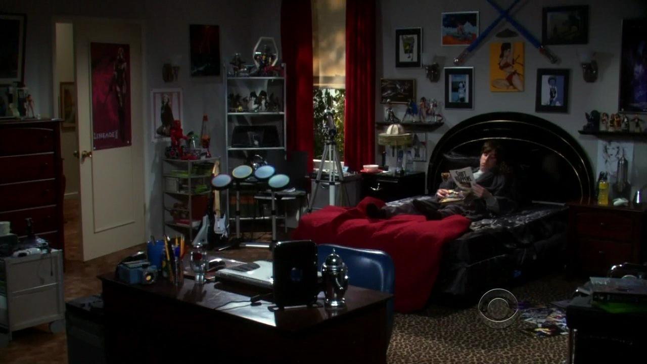 Image S02e12 Howards Room Wide Shot Jpg The Bang Theory Wiki Fandom Ed By Wikia