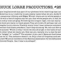 Chuck Lorre Productions, #269.