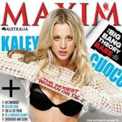Kaley on Maxim!!
