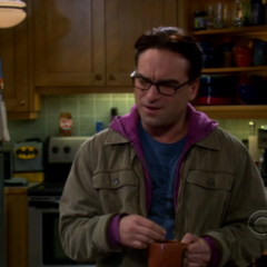 Leonard telling Sheldon that Stuart is interested in Amy and wants to ask her out.