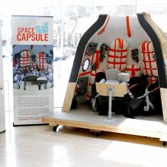 Behind the scenes: Soyuz Capsule.