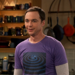 Sheldon would be happy to be a cog in the military-industrial complex.