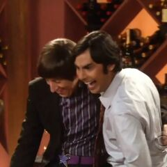 Raj and Howard keep their bromance alive.