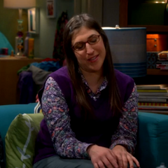 Dr. Lorvis thinks Sheldon knows his way around women. Amy smiles.