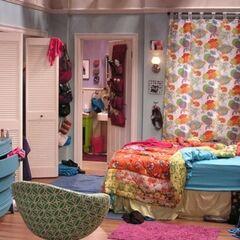 Penny's bedroom.