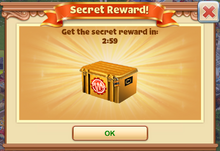 Secret Reward Window