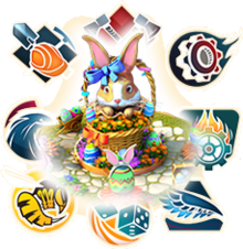 Easter Bunny Boss Fight Competition Graphic
