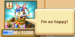 Easter Bunny Speech Balloon 2