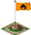 Flammable Sign Flag