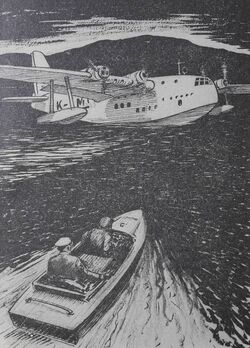 Stead- flying boat-Biggles in the Orient