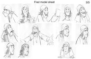 The many faces of Fred by Jin Kim