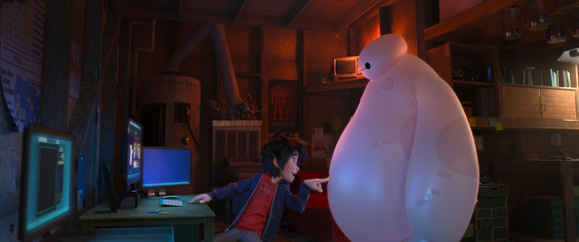 File:Hiro going to give Baymax an upgrade.png
