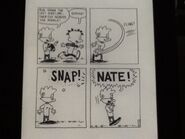 Nate's broken wrist - 1992