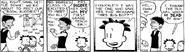 Mrs. Bigbee in her frist comic strip.