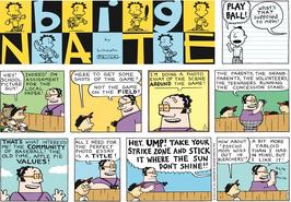Big Nate comic strip Dated May 24 2015