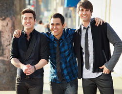 James, Carlos and Logan