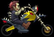 4 C A H bike