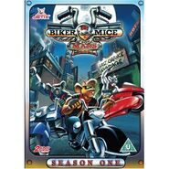 Biker Mice DVD cover