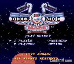 File:Biker Mice From Mars snes menu.jpg