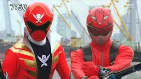 Gokaiger vs go buster theme song