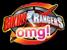 Bikini Rangers omg! logo