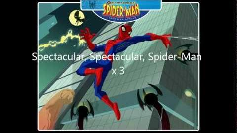 Full Theme Song The Spectacular Spider-Man ( lyrics )