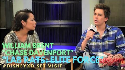 "William Brent on set of Disney XD's new series ""Lab Rats- Elite Force"" -DisneyXD -LabRats"
