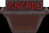 Arcade door opened