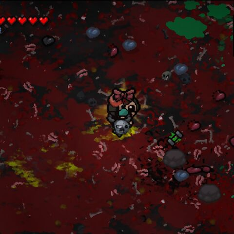 Bloody  room  after  Boss  Rush  and  won  item