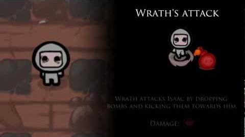 Binding of Isaac 7 Deadly Sins - Wrath