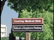 Courtney clinic sign