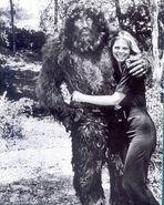 Lindsay n bigfoot