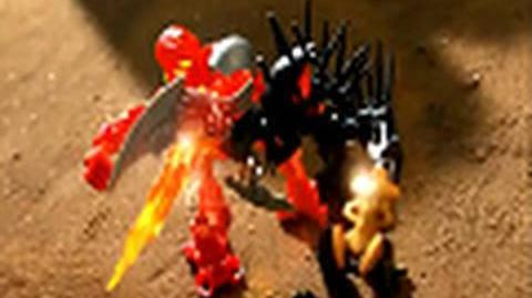 BIONICLE Stars Battle Video 4 Tahu vs