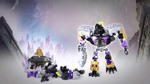 LEGO Bionicle 2015 - Onua Protector of Earth Power-Up stop motion