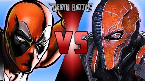 Deadpool VS Deathstroke DEATH BATTLE!