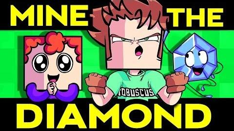 MINE THE DIAMOND (Minecraft Song) Toby Turner ft. Terabrite