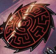 Comic Saw Blade Sheild