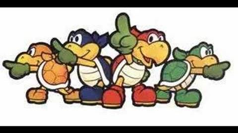 Paper Mario 1 Koopa Bros Battle Music