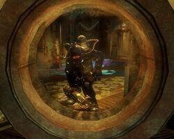 BioShock 2-Inner Persephone - Augustus Sinclair as Subject Omega tower f0355
