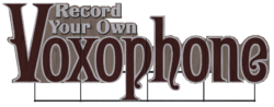 Voxophone Fairgrounds sign