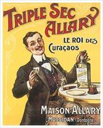 Triple Sec Allary Advertisement